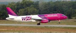 Скидка на билеты авиакомпании Wizz Air