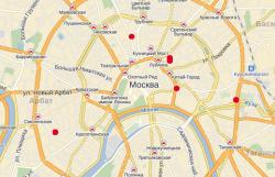 Банкоматы Банка Возрождение в Москве