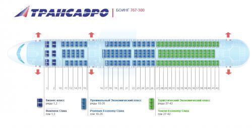 Боинг 767 (Boeing 767) является широкофюзеляжным авиалайнером, который предназначен для выполнения полётов средней...