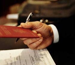 Процедура замены загранпаспорта